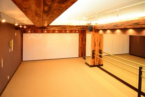 柏のダンスやヨガができる貸しスタジオ