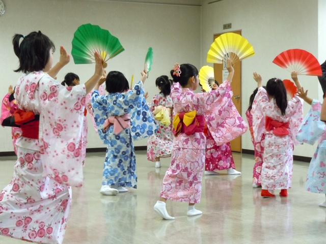 子供 日本舞踊 立居振る舞い 柏