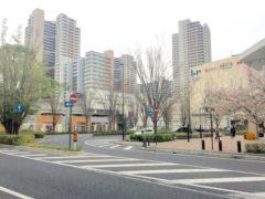柏の葉キャンパス駅周辺の風景