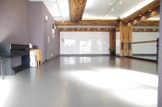 柏ハドレンタルダンススタジオの室内