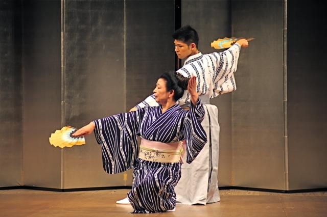 日本舞踊教室の時間
