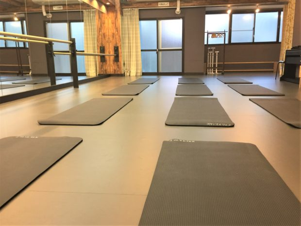 柏ハドレンタルダンススタジオの内装