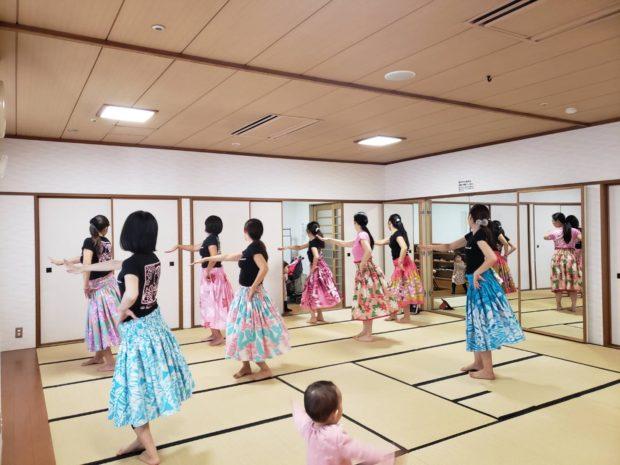 フラダンス教室 カプアオカラニ 柏校