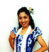 フラダンス教室 アロハ・フラ・レアリノ~健美Hula教室~ 講師のYumiさん