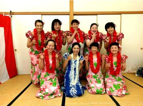 フラダンス教室 アロハ・フラ・レアリノ~健美Hula教室~ 開講の記事に使用
